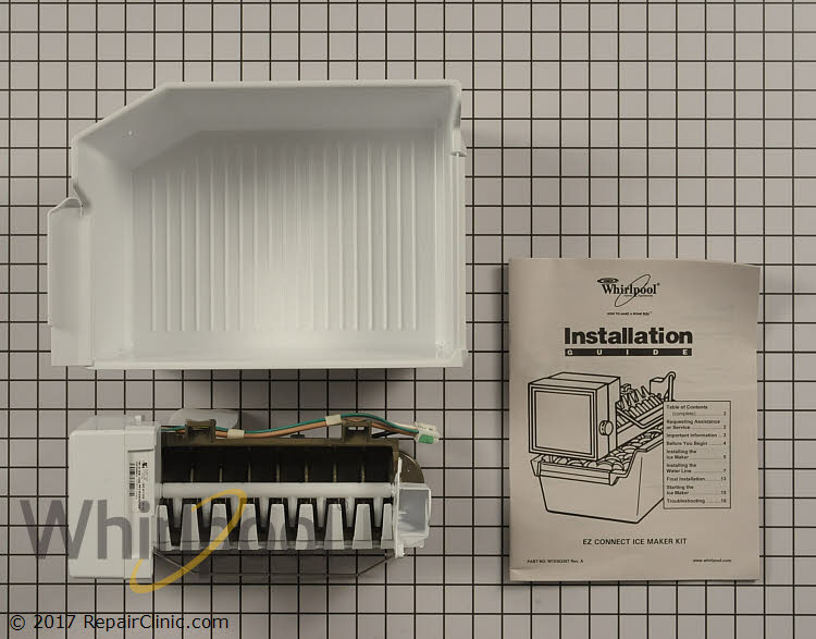 ice maker diagram viper 5305v wiring assembly wpw10715709 whirlpool replacement parts alternate product view