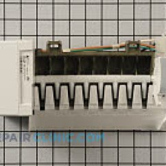 Whirlpool Conquest Ice Maker Diagram Arctic Spa Heater Wiring Refrigerator Parts Fast Shipping Assembly