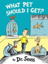 New Dr. Seuss book, What Pet Should I Get?, (photo CNN)