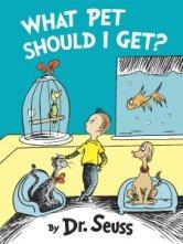 New Dr. Seuss book, What Pet Should I Get?, (photo CNN)