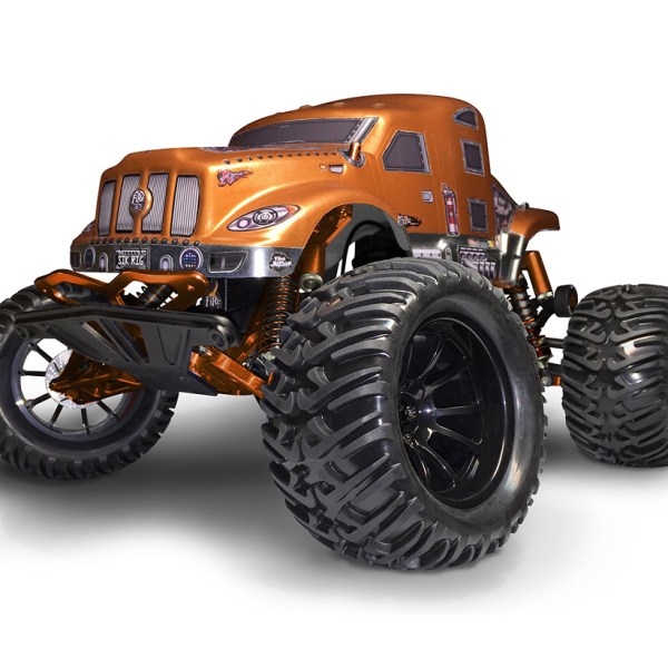 Firebrand Rc Judge Body And Komoto Tires - Car Action