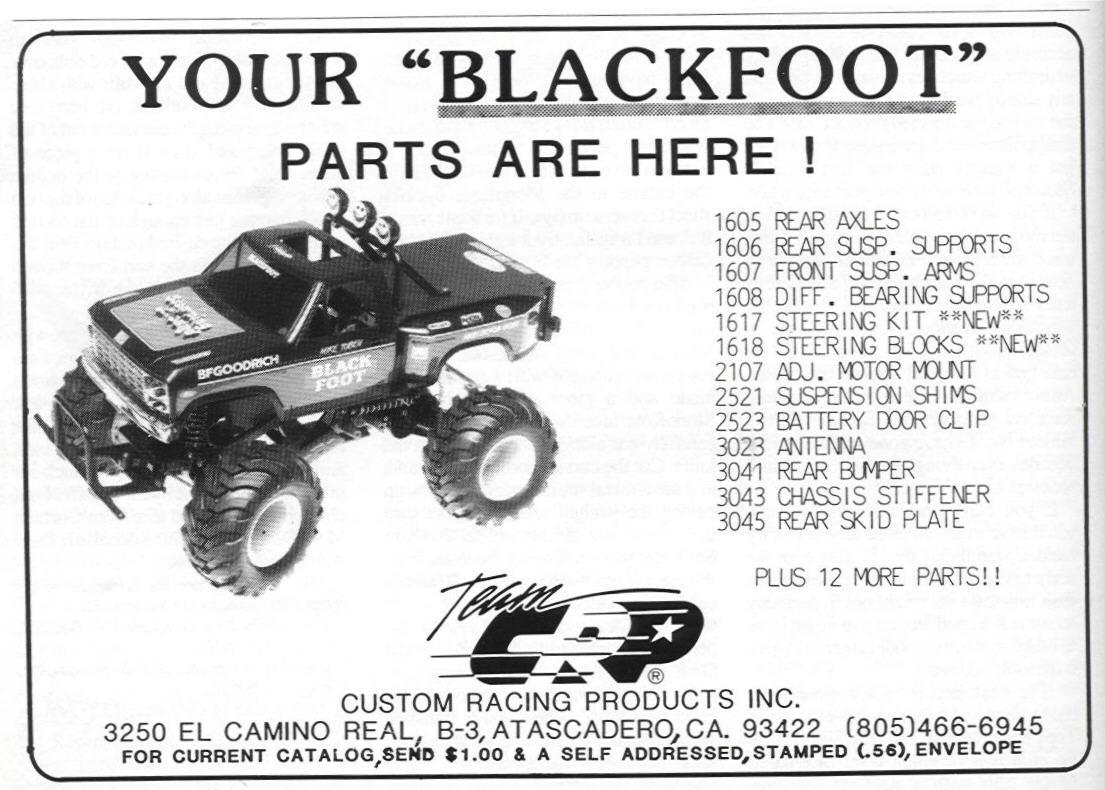 Team Crp Custom Racing Products Inc