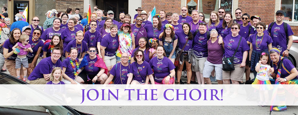 Audition for Pittsburgh's LGBTQIA+ Choir