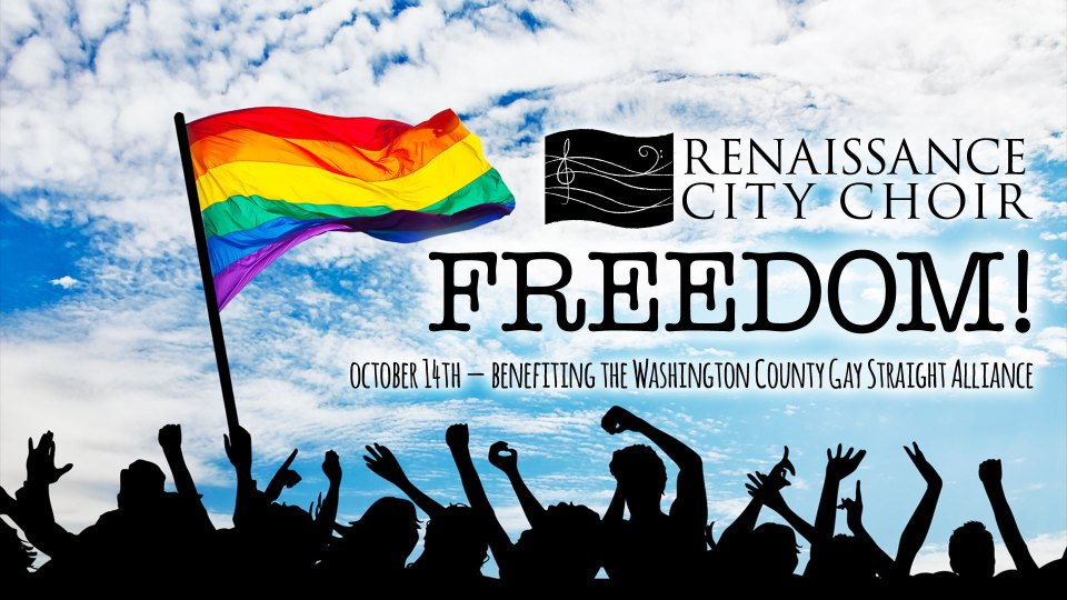 Freedom! Pride Concert benefiting Washington County Gay Straight Alliance