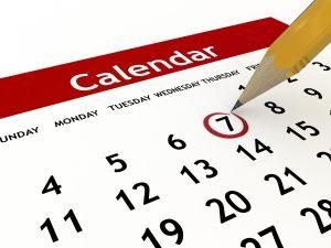 Calendario Renta de 2014