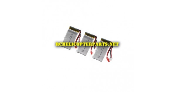 3000-37 Lipo Batteries 3PCS Parts for Polaroid PL3000 Wifi