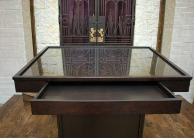 Bimah and Aron Kodesh