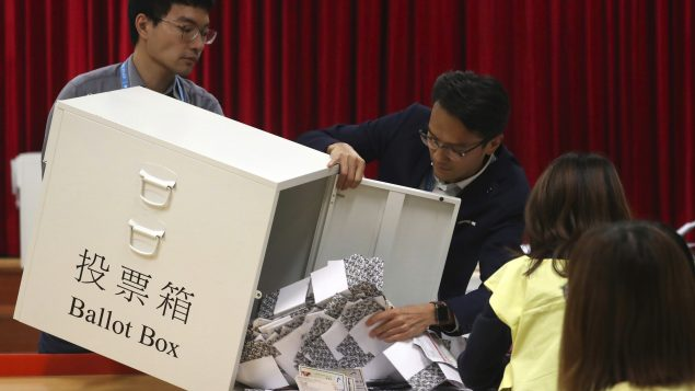 香港區議會選舉:泛民主派獲得85%議席 – RCI | 中文