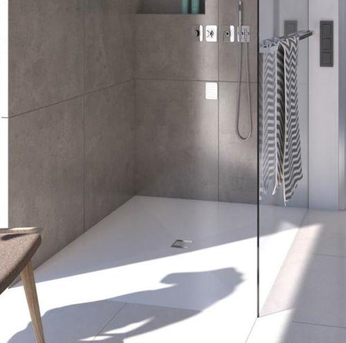Piatto doccia filopavimento in 6 mm robusto e