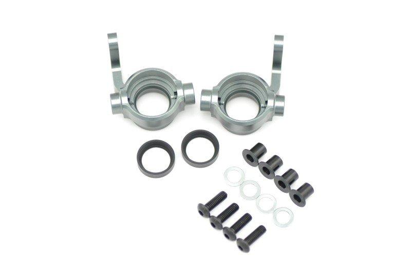 600611 Steeringblock Aluminium 0-Deg L+R Serpent