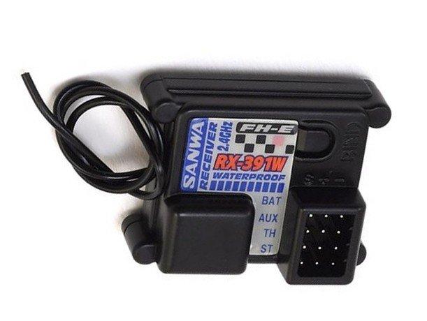 Sanwa RX-391W 3CH 2.4G Receiver (FH-E) Waterproof