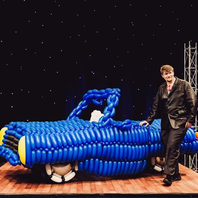Life Sized Balloon Car