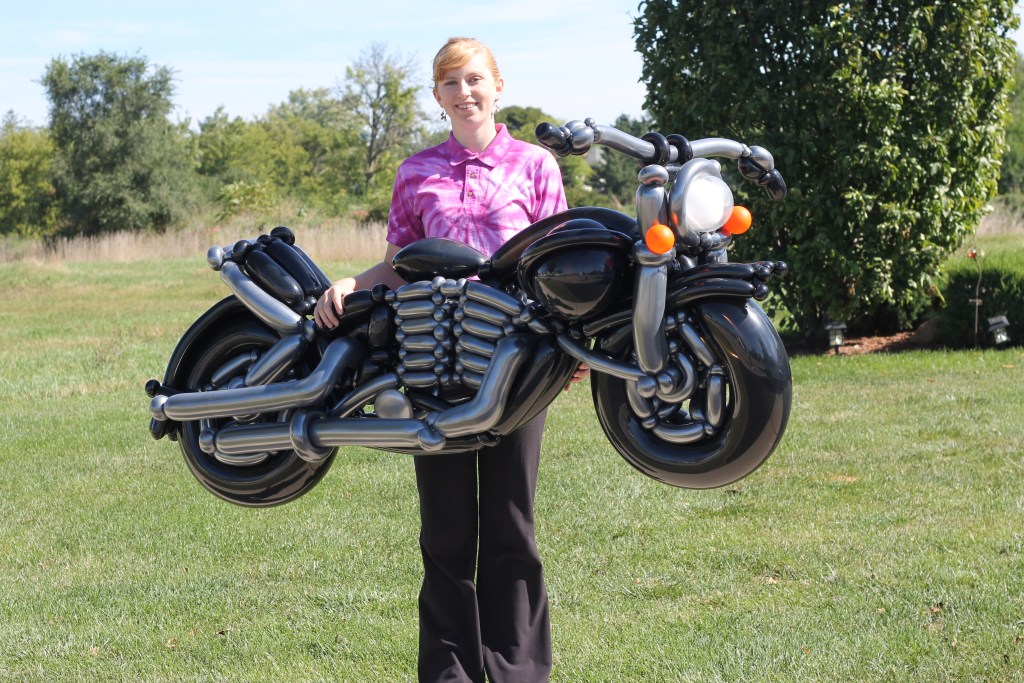 Full Sized Motorcycle