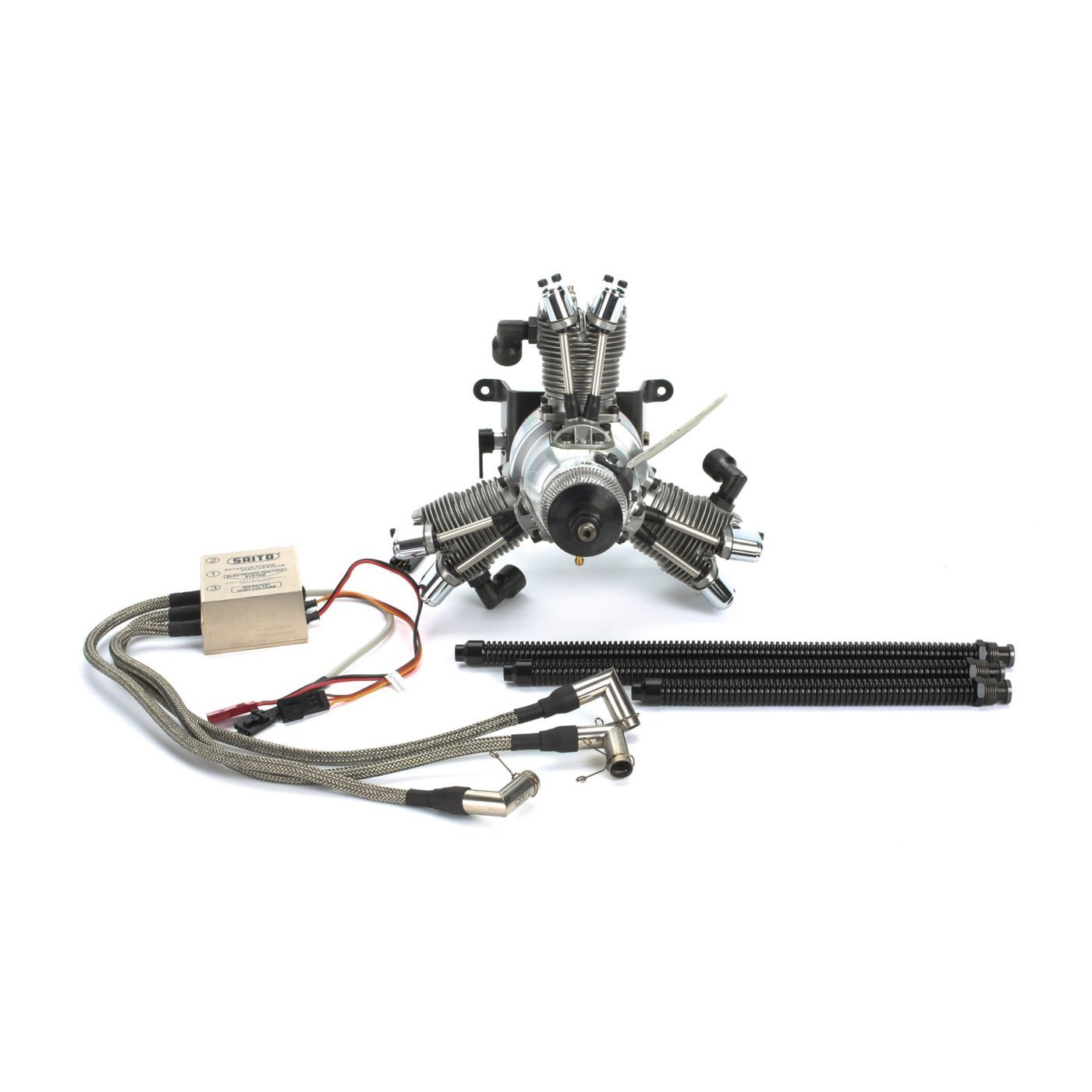 33cc 3 Cylinder Gas Radial Engine Saitofg33r3