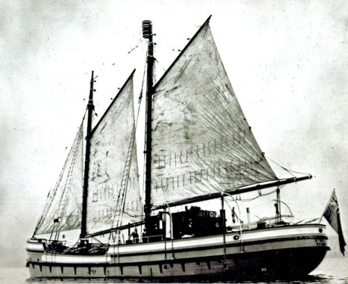 Photograph of the RCMP St. Roch vessel