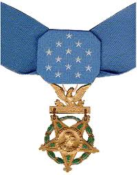 Photograph of the US Medal of Honour