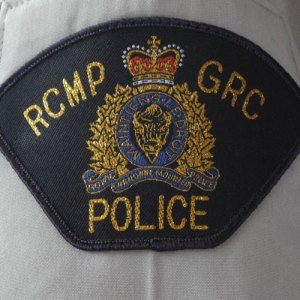Photograph of RCMP Shoulder flash