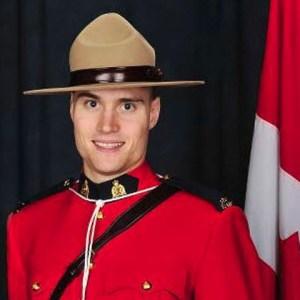 Photograph of Constable Adrian Oliver of Surrey Detachment