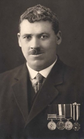 Photograph of S/Sgt. John 'Taffy' Jones - Master Tailor RNWMP & RCMP