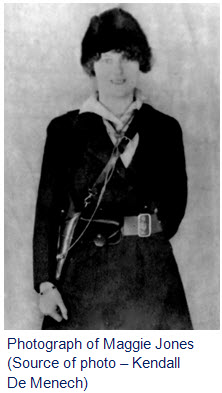 "Photograph of Maggie Jones - RNWMP ""Depot"" Division matron"