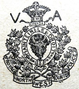 Image of the early RNWMP Veterans Association crest