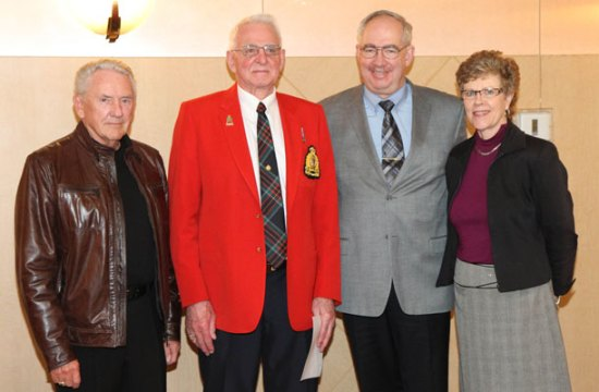 Photograph of new RCMP Veterans joining the Vancouver Division