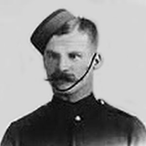 Photograph of Edward Hilliam of the NWMP