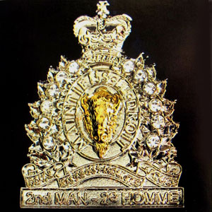 2nd Member Brooch - RCMP Veterans