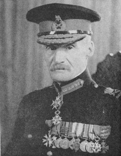 Photograph of Brigadier General Edward Hilliam in his Canadian uniform (Source of photo - RCMP Veterans' Association Vancouver Division's photo collection)