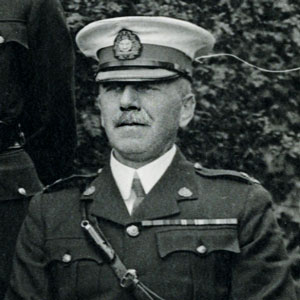 """Photograph of George Jennings of the RNWMP & RCMP (Source of photo - RCMP Historical Collection Unit - """"Depot"""" Division)"""