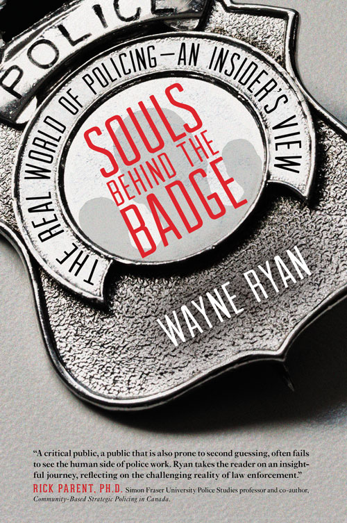 Image of the Souls Behind The Badge book (Source of image - Wayne Ryan)