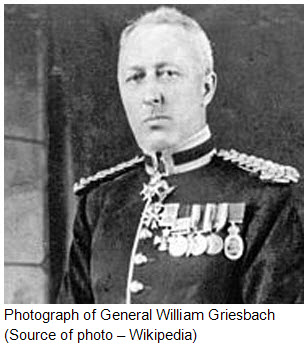 Photograph of General William Griesbach.