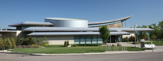 Photograph of the RCMP Heritage Centre in Regina, Sask. (Source of photo - Sheldon Boles)