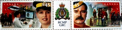 45_Cent_Canada_stamps_RCMP