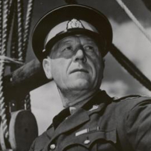 Photograph of RCMP Henry Larsen (Source of photo - Vancouver Sun Archives).
