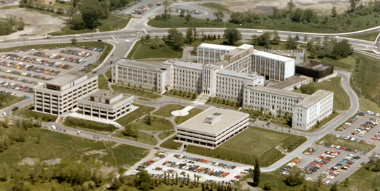 Photograph of the old RCMP Headquarters in Ottawa (Source of photo - Bill Sedler's Photo Collection).