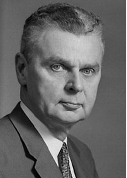 Photograph of Lawyer John Diefenbaker who later became the 13th Canadian Prime Minister of Canada.