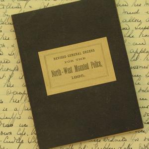 NWMP Manual (Source of photo - Sheldon Boles),