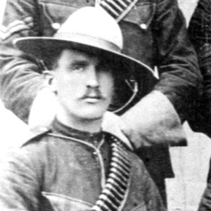 "1897 - Photograph of Sergeant Walter Wrixton de Rossiter (Source of photo - RCMP Historical Collections Unit - ""Depot"" Division)."