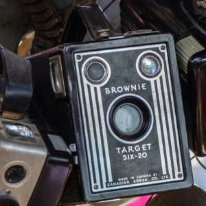 Brownie camera taken by Sheldon Boles
