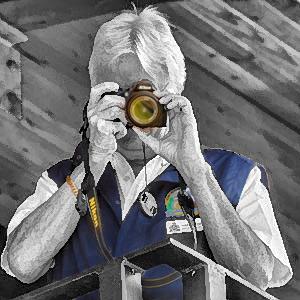 Veteran with camera