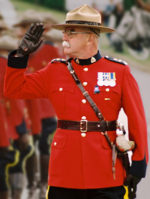 Photograph of retired RCMP Superintendent Ric Hall (Source of the photo - Ric Hall's Photo Collection).