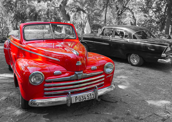 Photograph of old age Cuban transportation taken by Sheldon Boles