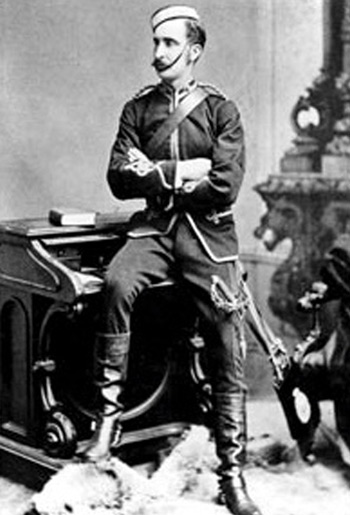 Photograph of NWMP Supt. Edmund Clark.