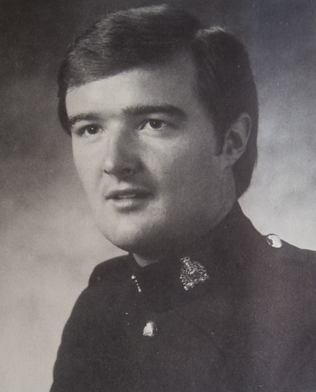 Photograph of Constable Barry McKinnon (Reg.#