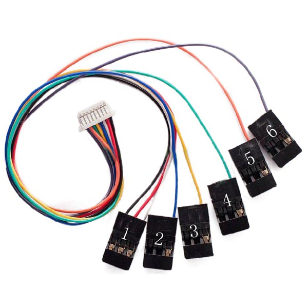 Antenna Rotor Wiring Diagram Buy Cc3d Flight Controller 8pin Connection Cable Set