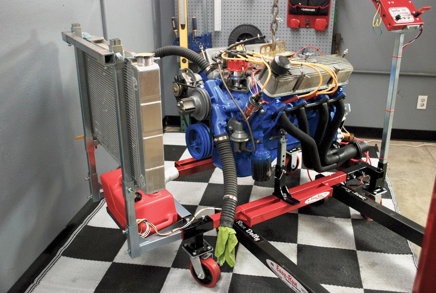 EasyRun engine test run stand  ReinCarNation Magazine
