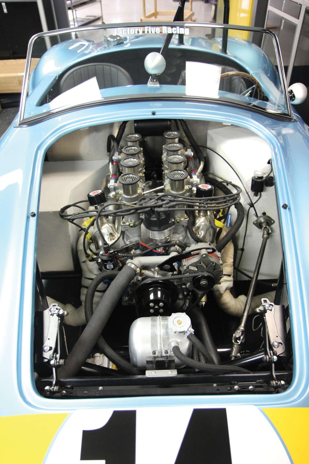 BluePrint Engines joins Factory Five Racing