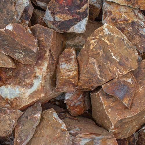 rubble stone landscape rock - rcp