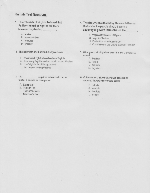 small resolution of 4th Grade Homepage / VA Studies Guides and Notes